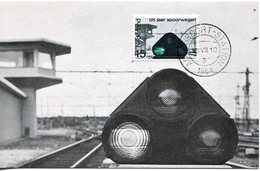20617 Nederland, Maximum 1964  Railway Signal - Trenes