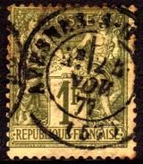 06446 França 72 Sage Tipo 1 U - 1876-1878 Sage (Type I)