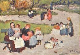 Picasso        H18        Le Jardin Du Luxembourg - Paintings