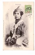 Martinique Cpa Type Et Costume Creole + Timbre Cachet Fort De France 1904 - Sin Clasificación