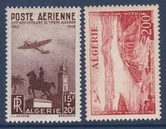 Algérie Poste Aérienne N°13/14 - Neuf ** Sans Charnière - Superbe - Algeria (1924-1962)