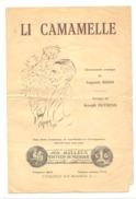 """Chansonnette Comique En Wallon """" Li Camamelle"""" De A. Boon Et Musique De J. Duysenx (b202) - Théâtre"""