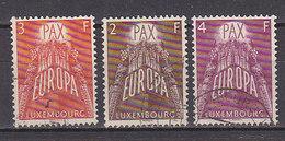 PGL CA082 - LUXEMBOURG Yv N°531/33 EUROPA CEPT - Europa-CEPT