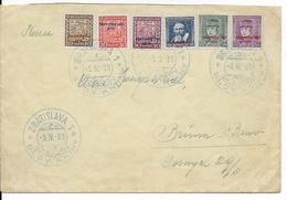 SLOVAQUIE - 1939 - 1° EMISSION Sur ENVELOPPE Par AVION De BRATISLAVA => PARIS - Slovaquie