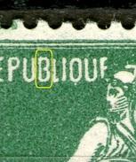 "N° 159 IB**_""B"" Pas Fermé_ - 1906-38 Semeuse Camée"