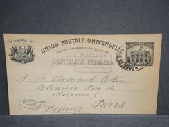PEROU - Entier Postal De Lima Pour La France En 1906 - L 6758 - Peru