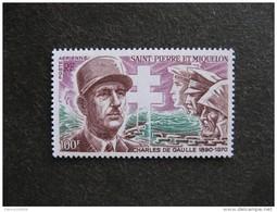 Saint Pierre Et Miquelon: TB PA N°53, Neuf XX. Cote = 38 Euros. - Poste Aérienne