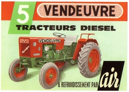 Vendeuvre Agrodyne BL30  -    Tracteur  Agricole  -  CPM - Tractores