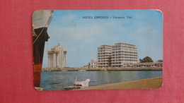 Hotel Emporio Veracruz  Venezuela   Has Stamp & Cancel ---- Ref 2542 - Venezuela