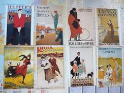 14 Affiches Publicitaires 14 Cartes - Illustratori & Fotografie