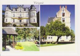 37 VEIGNE - MULTIVUES AVEC MOULIN / KIOSQUE - France