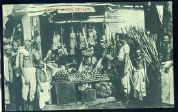 Cpa Du Sri Lanka Ceylon Native Shop   GX58 - Sri Lanka (Ceylon)