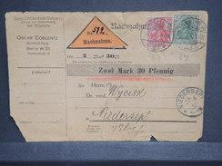 ALLEMAGNE - Carte Mandat De Berlin Pour Niedersept En 1912 - L 6767 - Germany