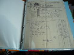 Lettre Document Facture  Fournitures Pour Cafes Hotels Beziers Auguste IZERN   Aude - Alimentaire