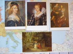 Pierre Paul RUBENS 4 CARTES - Peintures & Tableaux
