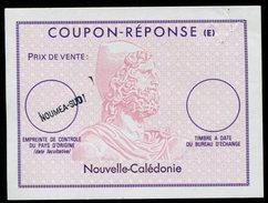 NOUVELLE-CALÉDONIE   French Reply Coupon / Coupon Réponse Régime Français - Entiers Postaux