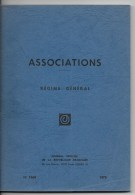 Association ,régime Générale - Droit