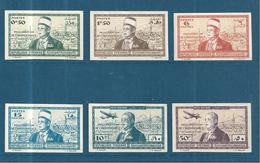 Colonies  Timbre De Syrie De 1942 N°260 A 263 + PA N°94/95 Non Dentelés Neufs ** Cote 190€ - Neufs