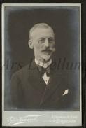 Cabinet Card / Photo De Cabinet / Kabinet Foto / W / Homme / Man / Photo Egide Verhassel / Bruxelles - Foto's