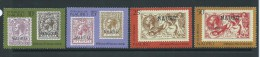 Nauru 1976 Stamp Anniversary Set Of 4 MNH - Nauru
