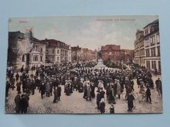 Ottokarplatz Mit Platzmusik () Anno 1919 ( Zie Foto Details ) !! - Zittau