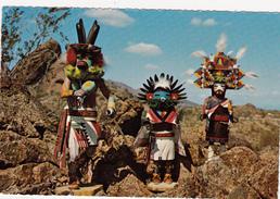 CPSM Dentelée Indian Indien Kachina Dolls - Native Americans