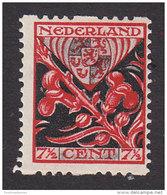 Netherlands, Scott #B23a, Mint Hinged, Arms Of Limburg, Issued 1927 - Period 1891-1948 (Wilhelmina)