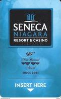 Seneca Niagara Casino - Niagara, NY - Hotel Room Key Card