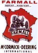 Farmall -  McCormick-Deering International  -    Tracteur Agricole  -  CPM - Tracteurs