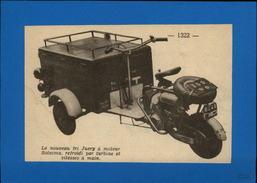 MOTO - TRIPORTEUR - Publicité Issue D'une Revue De 1952 Et Collée Sur Feuillet - Publicités