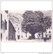 HSCTP7673CPA-LFTMD8019TFPAR.Tarjeta Postal DE HUESCA.Calles,edificos,arbol Y PLAZA DEL BOSSOST-VALLE DE ARAN - Árboles