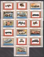 Ajman  Blocksatz Mi. 2749B / 2764B Oldtimer / Sportwagen **/MNH - Cars