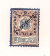 1 Austria Revenue Republik - 2 Heller - Ungebraucht - Fiscales