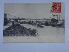Réf: 12-11-189.            CHOISY-AU-BAC                 Pont Du Bac à L'Aumône. - Frankrijk