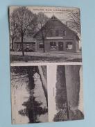 Gruss Aus LAUENBRÜCK Kaufhaus Fr. Lathwesen Wümmetal Partie Am Teich ( Kuntze ) Anno 19?? ( Zie Foto Details ) !! - Rotenburg (Wuemme)