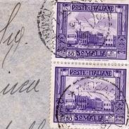 Lettre Colonie Italienne SOMALIE SOMALIA 1935 Pour Rovigo Italie - Somalië
