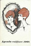 "Petit Calendrier Publicitaire ""Agenda Coiffure 1968"" - Calendriers"
