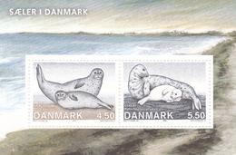 2005, Dänemark, 1417/18 Block 26, Robben In Dänemark.  MNH **