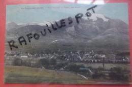 Cp  La Roche Sur Foron Vue Generale Et Chaine Des Alpes Couleur N 11 - La Roche-sur-Foron