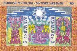 2006, Dänemark, 1431/32 Block 27, NORDEN: Nordische Mythen .  MNH **