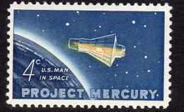 USA 1962 Colonel John Glenn Space Flight, Mercury, MNH (SG 1192) - Ungebraucht