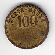 JETON, WERTH- MARKE 100. (MN 28 ) - Autres