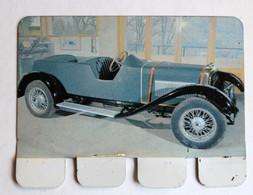 Plaque Métal Voiture Schneider 1925 Torpedo Auto à Travers Les âges - Advertising (Porcelain) Signs