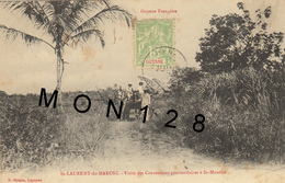 GUYANE - SAINT LAURENT DU MARONI - VISITE DES CONCESSIONS PENITENTIAIRES A SAINT MAURICE - Saint Laurent Du Maroni
