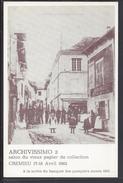 """THEMES - Carte Postale Commémorative """" Archivissimo 2 """" Salon Du Vieux Papier - Crémieu 17-18 Avril 1982 - B/TB - - Bourses & Salons De Collections"""