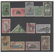 LIBERIA 1918 YT N° 140 à 152 Oblitéré - Liberia