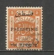 PALESTINA YVERT NUM. 19A USADO - Palestina