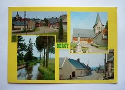 02 - Cpsm  Grand  Format -  DERCY - L'église - Rue Des Mortiers - Rue Du Chateau - Le Vilpion - France