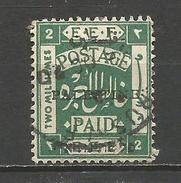 PALESTINA YVERT NUM. 16B USADO - Palestina