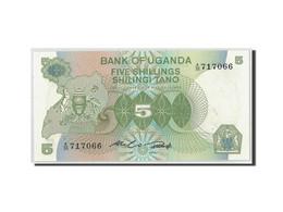 Uganda, 5 Shillings, Undated (1982), KM:15, NEUF - Ouganda